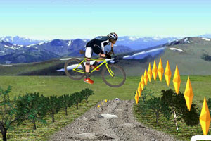 3D mountain bike Image