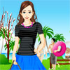 Dating Girl Dress Up Image