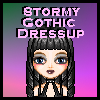 Stormy Gothic Dress.. Image
