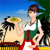 Waitress Girl Dress.. Image
