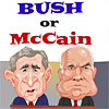 Bush or McCain? Image