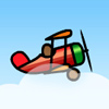 Play Red biplane