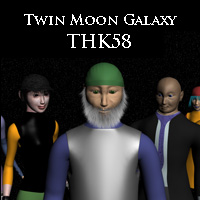 Twin Moon Galaxy: THK58