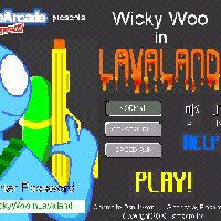Wicky Woo in Lava Land